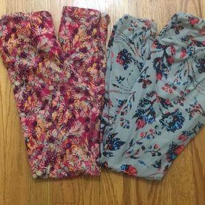 2 pairs LuLaRoe